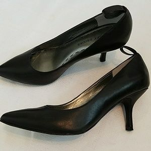 Audrey Brooke Leather Shoes Small Heel